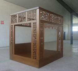 安缦颐和架子床