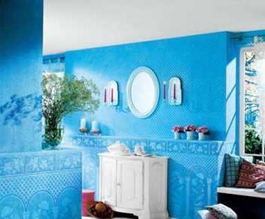 让多彩涂料来拯救千篇一律的白墙