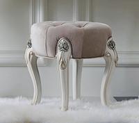 诺丁山家具 手工雕花梳妆凳