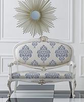 诺丁山家具 手工雕花 双情人椅