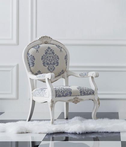 诺丁山家具 手工雕花 单个情人椅