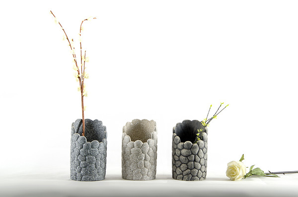 新款水泥小花盆