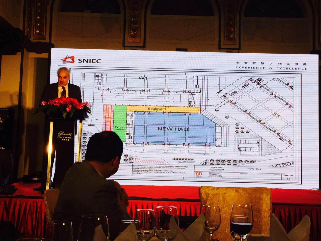 上海新国际博览中心规划将增建新展厅兼会议中心