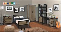 Fashion and modern bedroom furniture