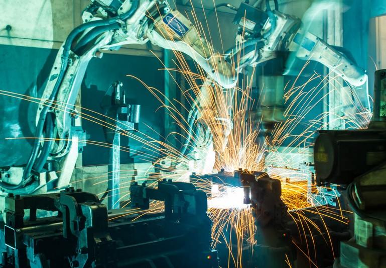 钢铁工业风设计手绘