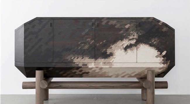 再现传统嵌木细工的家具系列