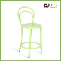 China apple green mid back bar stool