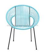 New design outdoor rustproof acapulco bar chairs