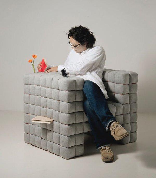 完美诠释收纳概念的沙发