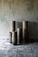 棕榈木花器