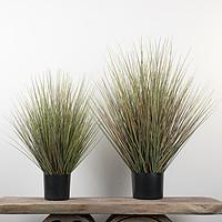 仿真麦穗草植物盆栽