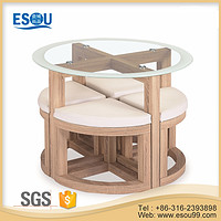 Dining Table Sets with 4 Stools