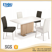 High Gloss MDF Wooden Dining Table