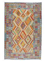 阿富汗手工羊毛KILIM地毯