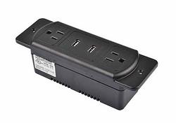 暗藏式TR保护排插带中间两个USB