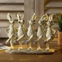 家居兔子摆件