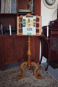 英国老物件:木质古典乐谱架