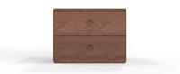 美国黑胡桃木 床头柜