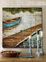 帆船装饰画