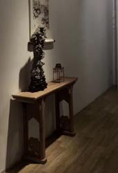 明式家具实木玄关桌条案供桌条案可定制