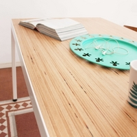 BauBuche table designed by 'Pilati'