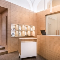 BauBuche shop design for Italian jewellery chain.