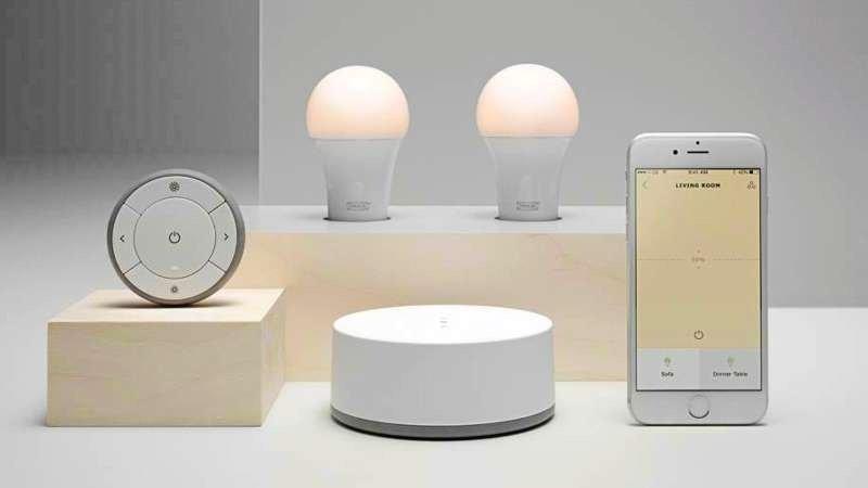 从这款简单的灯泡上,我们或许可以看到宜家智能家居的未来