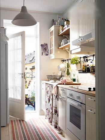 厨房 白色 阳光