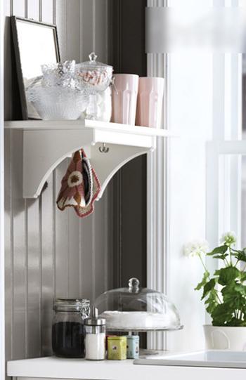 厨房 白色 隔板