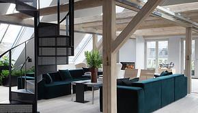 丹麦家居品牌Vipp开了家Loft酒店,里面只有一间房