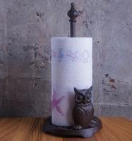 铸铁猫头鹰厨房纸巾座