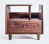 纯实木床头柜