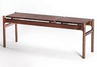 实木黑胡桃餐凳