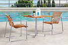 STAINLESS STEEL OUTDOOR FURNITURE