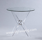 acryic side table