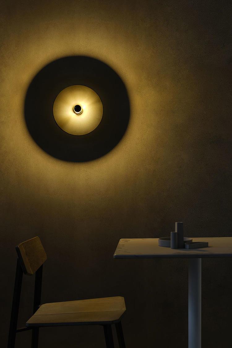 Bentu Design, Chinese designer,Independent Design Brand Bentu Design Uses Ceramics and Concrete into the Wall Lamp Creation