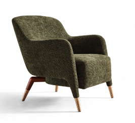 HT189休闲椅 Italian Minimalism Style Leisure Chair