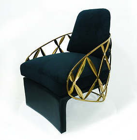 『花瓣椅』Chinese Style Chair