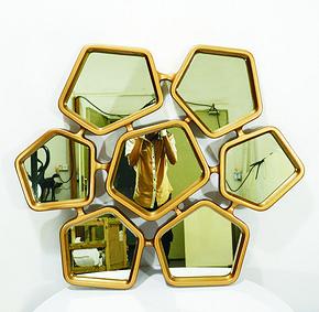 『多边形装饰镜』Decorative Mirror