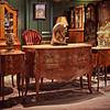 法国路易十五式椴木贴面屉柜