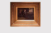 19世纪苏格兰著名画家Tom Mcewan油画作品