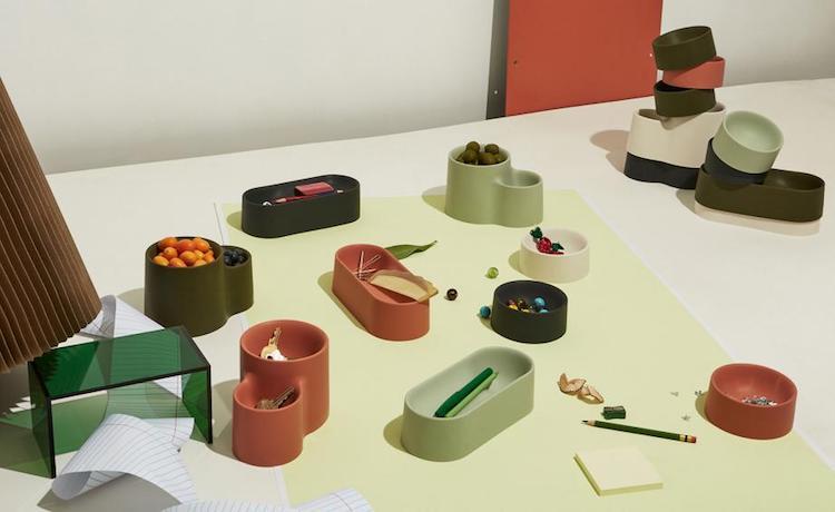 Good Thing 于纽约餐饮周推出建筑形态的硅胶餐具