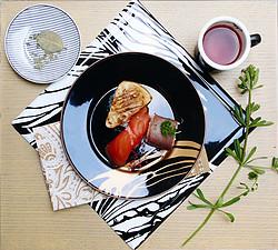 流金树影餐盘