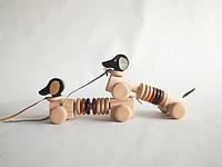 小旺财 实木玩具