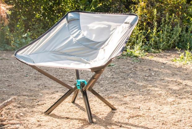 水杯大小的便携椅子 200斤胖子也能坐