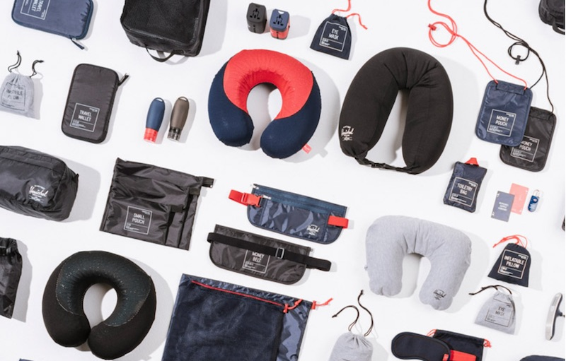 Herschel Supply ,Herschel Supply launches a range of travel accessories to provide a complete storage solution for young travelers