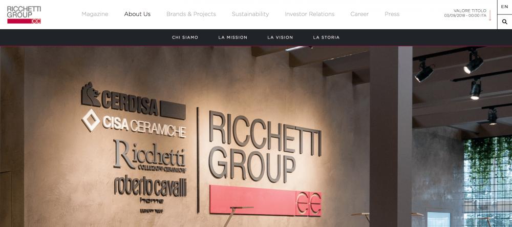 意大利私募股权投资公司 QuattroR 收购瓷砖制造商 Ceramiche Ricchetti 控制性股权