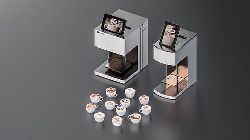 咖啡拉花机 EB-FT4(白)