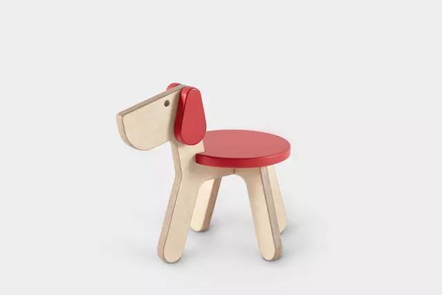 """点造推出新年限量款""""椅moji""""小动物椅子"""
