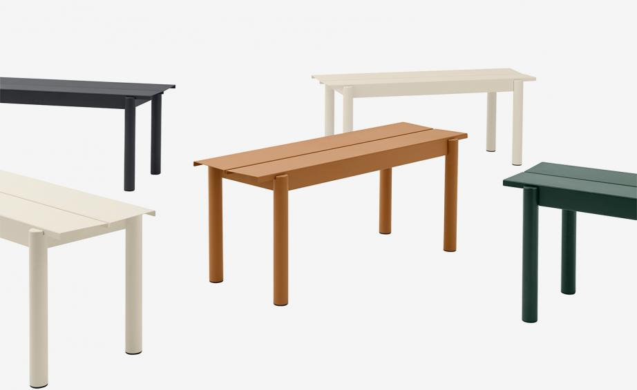 Muuto ,Muuto unveils debut outdoor furniture range with clean metal lines and timeless details
